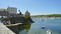 conquet port brittany trail france